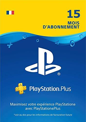 Offre Prime Day: PlayStation Plus: abonnement de 15 mois | Code Jeu PSN PS4 - Compte français