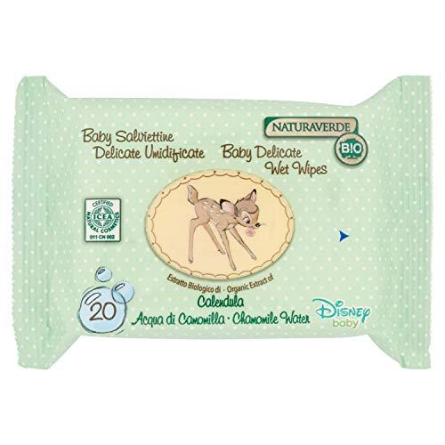 Naturaverde Baby Salviette delicate umidificate - 20 pz