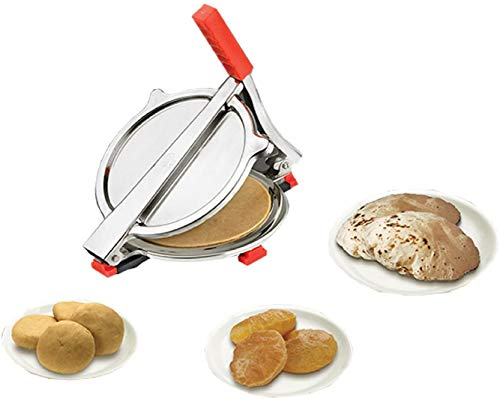 Cos route Stainless Steel Puri Press Machine Puri Machine Roti Chapati Maker Puri Press Puri Maker
