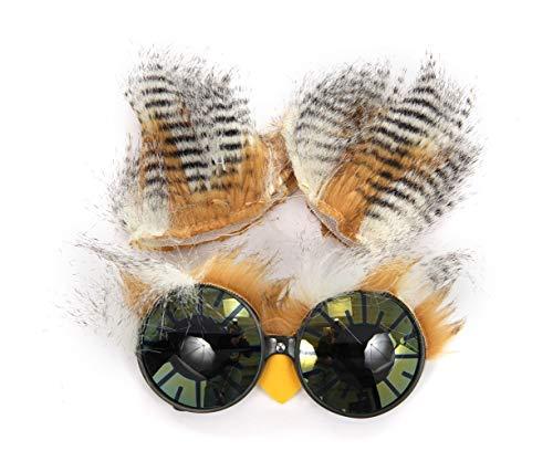 elope Owl Costume Ears Headband and Glasses Kit