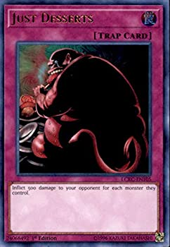Yu-Gi-Oh! - Just Desserts - LCKC-EN105 - Ultra Rare - Unlimited Edition - Legendary Collection Kaiba Mega Pack