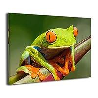 Skydoor J パネル ポスターフレーム カエル インテリア アートフレーム 額 モダン 壁掛けポスタ アート 壁アート 壁掛け絵画 装飾画 かべ飾り 30×40