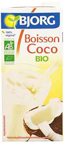 Bjorg Boisson Coco Bio - Faible teneur en sucres - 1 L