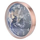 Reloj, Exquisito y Hermoso Reloj de Pared con Control de Voz y luz Innovador para decoración de Paredes para Tiendas, Bares para cafés para Muebles para el hogar