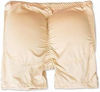 Butt Lifter, Clomplu Padded Moulder, Slimming Body Shaper for Men Large Size Buttock Enhancer Pads S-6XL Control Panties (Color : Beige, Tamaño : XXL)