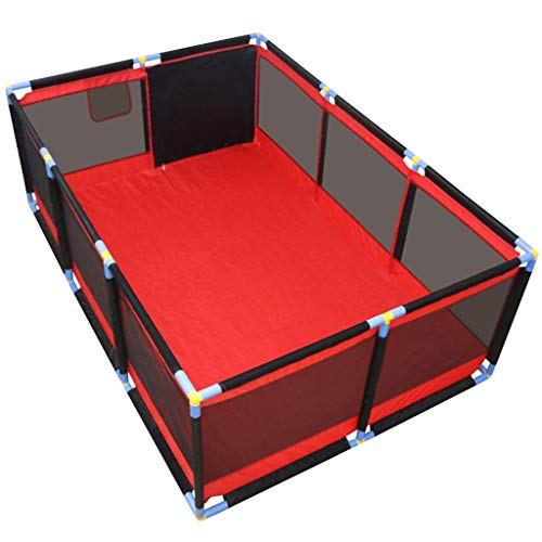 ZTMN Baby Playpen Kids Activity Center Safety Play Yard Home (Taille: 128 × 190 × 66cm)