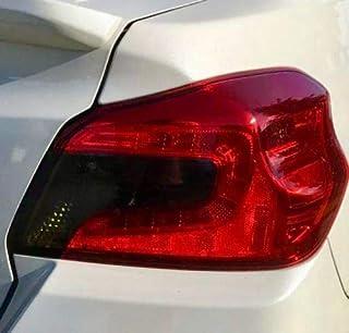 Precut Vinyl Tint Cover FITS: 2015-2020 Subaru WRX/WRX STi Sedan Smoked Taillight Overlays Film Tinted Tint Film Black Out...