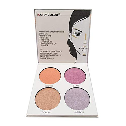 CITY COLOR Glow Pro Dawn Highlighting Palette