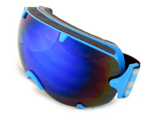NAVIGATOR PI Skibrille Snowboardbrille, Unisex/-Size, div. Farben (BLAU)