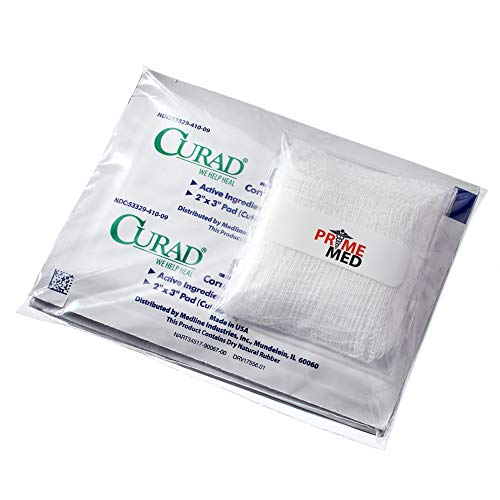 PrimeMed Gauze with Corn, Callus and Wart Remover Pads - 2