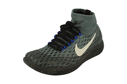 NikeLab Womens Lunarepic Flyknit Shield Running Trainers 881678 Sneakers Shoes (UK 5 US 7.5 EU 38.5, Hasta sail Black Racer Blue 300)