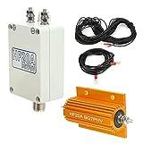 CCYLEZ Conjunto de analizador de Espectro pequeño, con estación de vehículos de 125 W, Antena de Banda Completa de Onda Corta de 1,5-30 MHz para la prevención de Incendios forestales