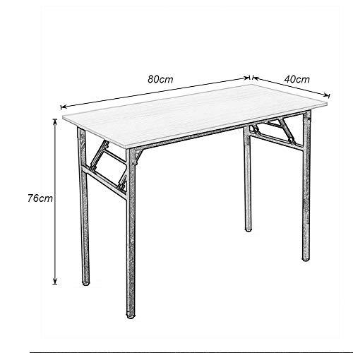Need Mesa Plegable 80x40cm Mesa de Ordenador Escritorio de Oficina ...