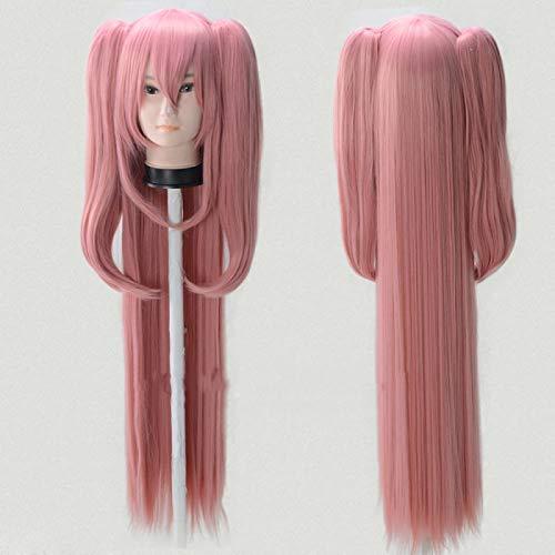 GHK 120cm Japanse Anime Cosplay Pruik Seraph van het einde Krul Tepes Pruik Vlechten Halloween Role Play