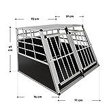 Aluminium Hundetransportbox Größe XL - 3
