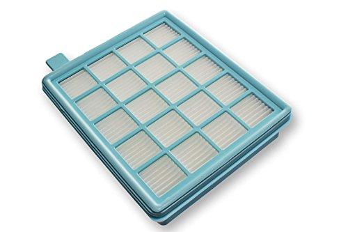 vhbw® Filtro hepa Filtro de salida de aire reemplaza 432200493801 para aspiradoras Philips PowerPro Compact como FC8478, FC8474, FC9323, FC9325, ...