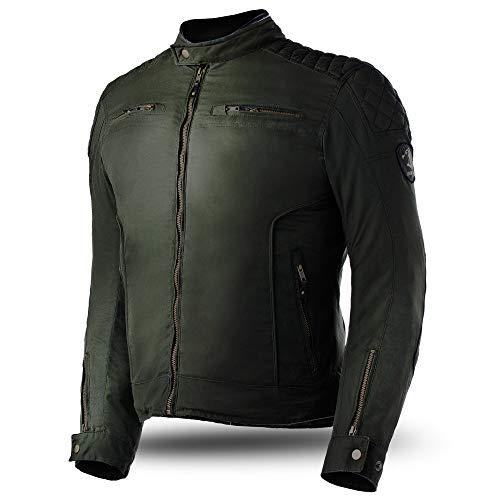Bela Chaquetas para Hombres Fury Chaqueta de Moto de algodón Encerado -...