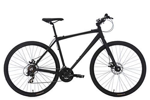 KS Cycling Cityrad Herren 28'' Urban-Bike UBN77 schwarz Alu-Rahmen RH51cm