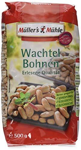 Müller´s Mühle Wachtelbohnen, 7er Pack (7 x 500 g)