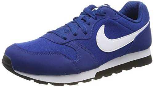 Nike Herren MD Runner 2 (GS) Sneakers, Blau (Gym Blue/White/Black 001), 40 EU
