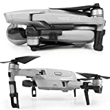 SYMIK Retractable Landing Gear Extension for DJI Mavic Air 2; Completely Foldable Design, Can be Left on The Drone at All Times, Even When Folded; Very Low Storage Profile; Accessories