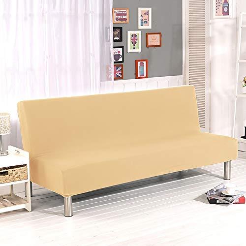 Ohne Armlehnen Schlaf Sofa Bezug Decke, Geometrische Stretch-Klappung, Ohne Armlehnen-sofabezug, All-Inclusive rutschfeste Couchüberwurf (Color17,160-190cm)