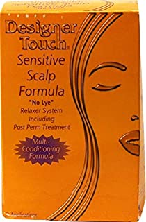 Designer Touch SENSITIVE SCALP FORMULA No Lye Relaxer kit - 2 Applications-Code:DET034 by Designer Touch