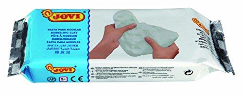 Jovi- Pasta modelar, Color blanco, 500 gramos (85)