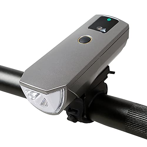 FGKLU 2000mAh USB Luz Bicicleta Bici, 350 Lúmenes LED Luces Delantera Bicicleta, IPX4 Agua Prueba, para Carretera y Montaña