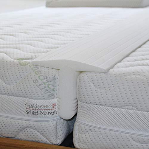 Fränkische Schlafmanufaktur Matratzen Ritzenfüller für extra breite Ritzen, Liebesbrücke, Bettbrücke, Bettkeil
