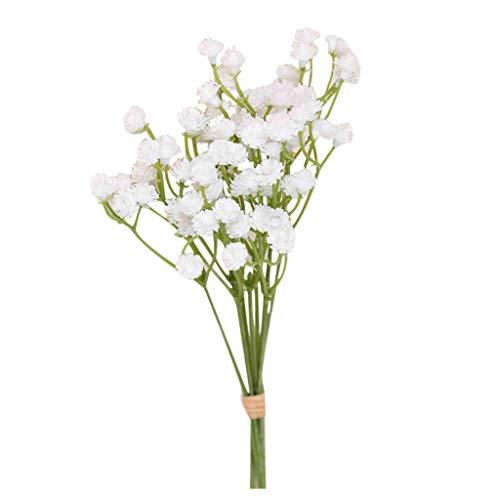 Artificial Blumen Gypsophila Flower WeißE Plastikblume KüNstliche Blume KüNstliche Kunstblume Elegant Und GüNstig Zierpflanze Zarte BlüTen Hortensie Fur Hochzeitsfeier Wohnkultur