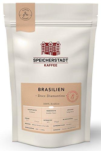 Speicherstadt Kaffee - Brasilien Doce Diamantina 100% Arabica ganze Bohne - 250g