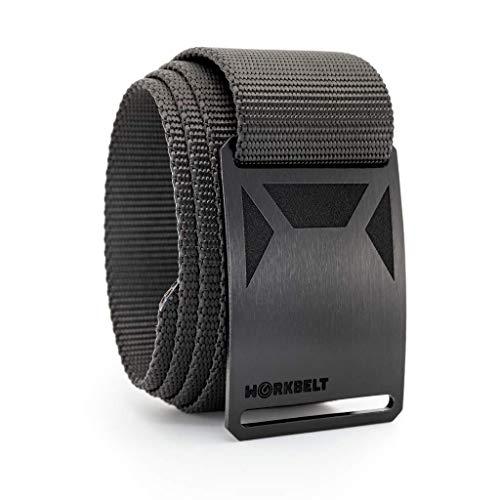 36 Inch Black Work Belt Tactical Belt Military Belt GRIP6...