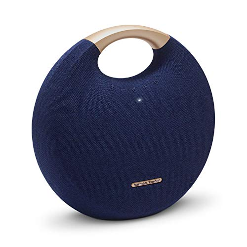 Harman Kardon HKOS5BLUAM Bocina Portátil Bluetooth con Micrófono, color Azul