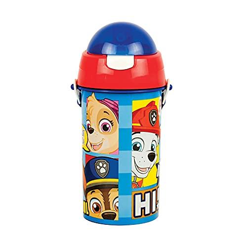 Botella de agua para niños Cantimplora Patrulla Canina 500 ml