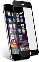 aiMaKE Protector de Pantalla Compatible con iPhone 6 /iPhone 6s , 3D Pantalla Completa Cristal Templado Pantalla...