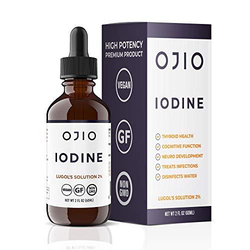 Ojio Iodine Lugol's Solution 2 (2 Fluid Ounces)