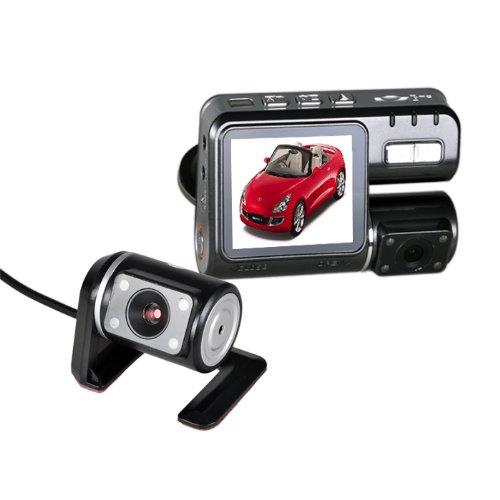 HD 1280* 720Pixel Dash Cam Auto Car Night Vision DVR auto Monitor Box Black Wide Angle 140