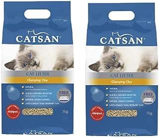 Catsan Clumping Clay Cat Litter 2 x 7kg Bags