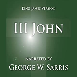 The Holy Bible - KJV: 3 John cover art