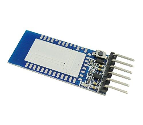 Aihasd Interfaz Serial Módulo Transceptor Bluetooth Módulo Tarjeta de Expansión Base Para HC-05 HC-06 Para Arduino