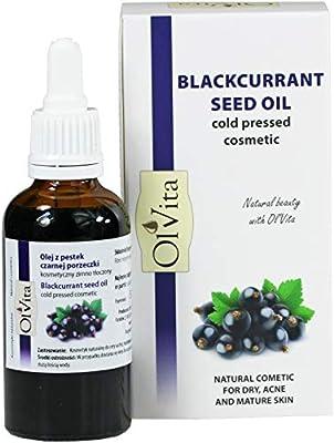 Blackcurrant Seed Oil, Cosmetic, Cold-Pressed, Ol'Vita 50ml