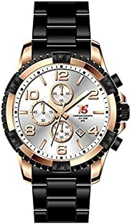 H3394G-F T5 WATCH FOR MEN -BLACK-ROSE GOLD