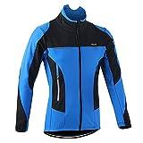 Abarich Chaqueta de Ciclismo para Hombre Invierno, Chaqueta de Bicicleta de Montaña, Resistente al Viento y Termica