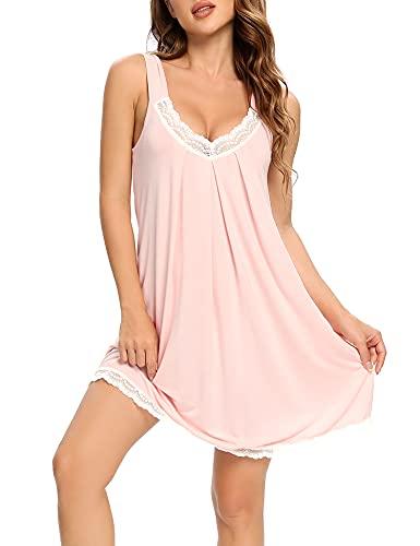 LOLLO VITA Nachthemd Damen Sleepshirt Sleepwear Schlafshirt Nightshirt Sexy Nachtkleid