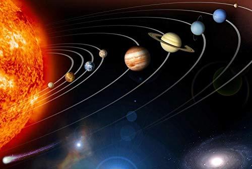 MMNALD Puzzles Rompecabezas del Sistema Solar Rompecabezas De Madera Rompecabezas para Adultos Juego De Rompecabezas De Madera 1000 Piezas Rompecabezas Juguetes para Niños Regalos