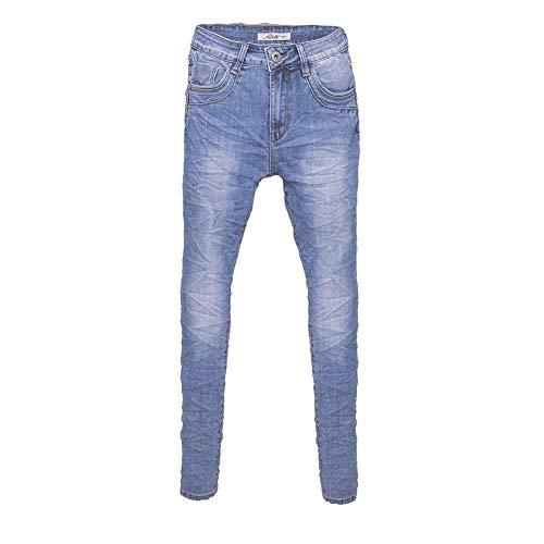 Jewelly Damen Jeans Boyfriend -Cut 2603 (XL/42)