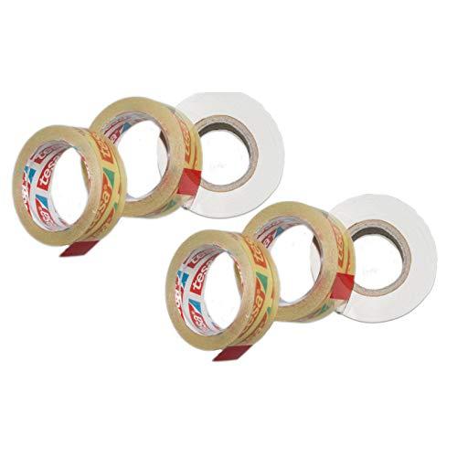DbKW (6 Strip Sealer Ersatzrollen) Beutelverschließgerät, Beutelverschlußgerät, Beutelverschließer Plastiktüten Verschluß Mülltütenverschließer Mülltütenverschluß Multisealer Sealer Beutelverschluß
