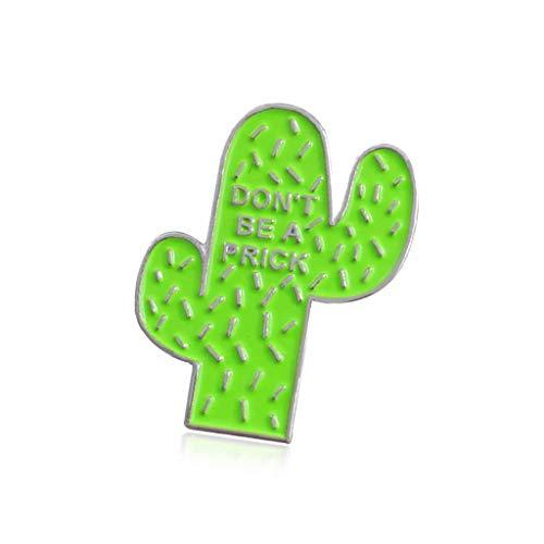 LILITRADE Broche de esmalte de regalo para ropa, accesorios de primera calidad, con diseño bonito de aleación de cactus, 2,3 x 1,8 cm