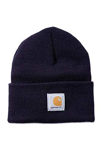 Carhartt Workwear - Cappello invernale da lavoro, Unisex - Adulto, A18-NVY, Navy Nvy., Taglia unica